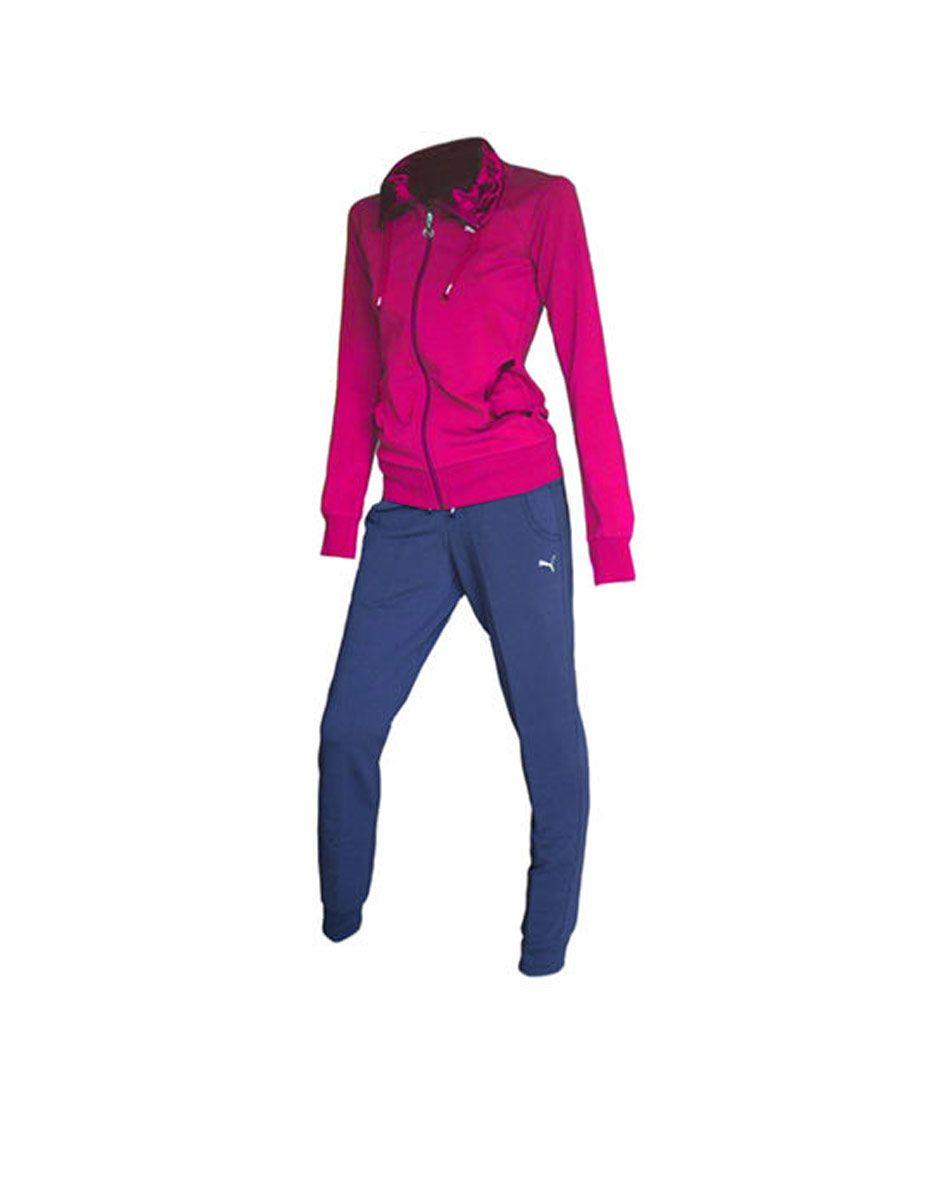762380642ea PUMA Satin Tracksuit Pink - Спортни екипи - Дрехи - Жени | Dress4Less