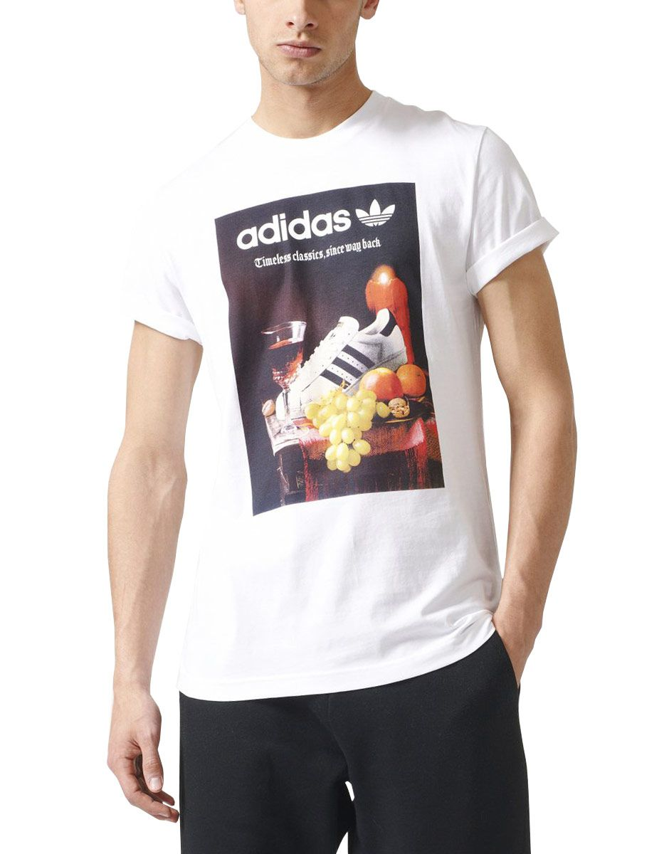 8289c49ffcc ADIDAS Originals Still Life Photo Tee White - Тениски - Дрехи - Мъже ...
