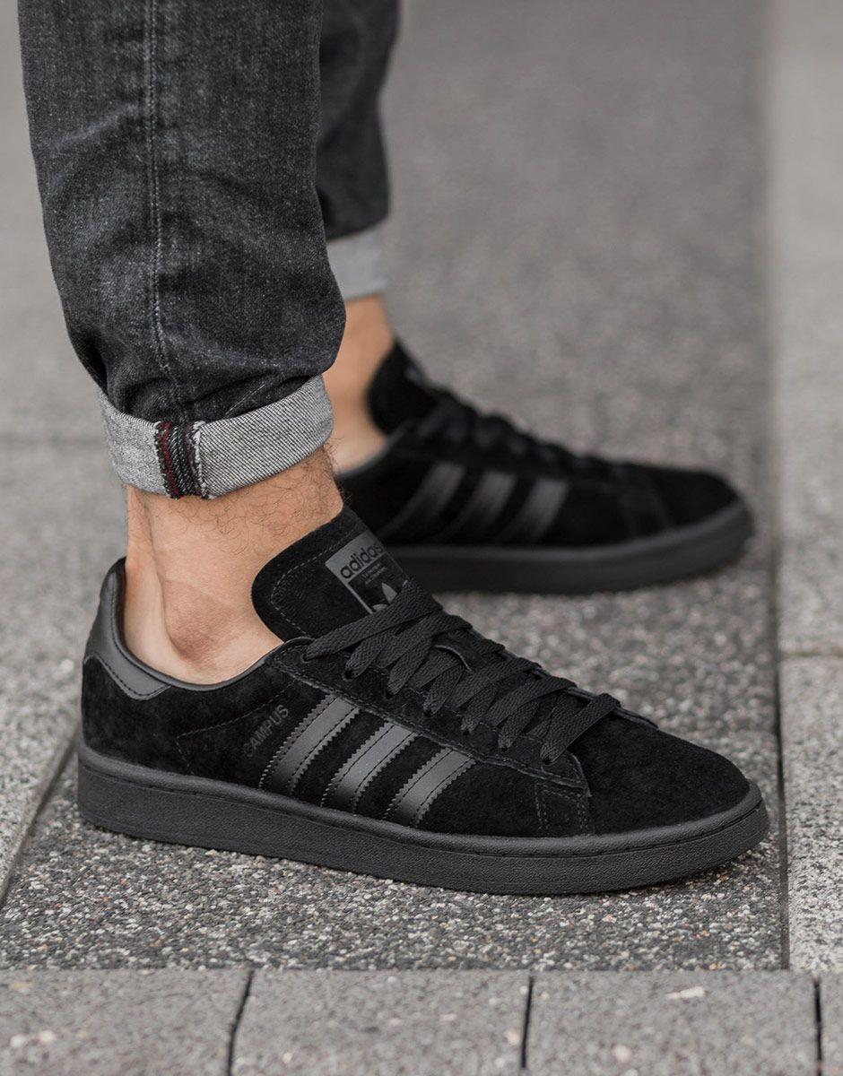 incomparable la mejor moda diseño de variedad ADIDAS Campus All Black - Спортни обувки - Обувки - Мъже | Dress4Less