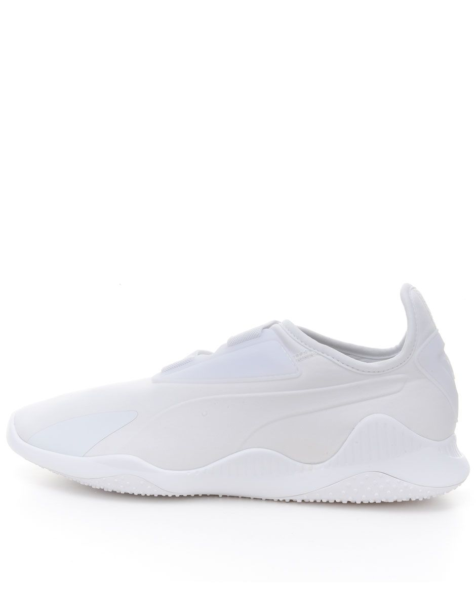 new style c6aaa f2c27 PUMA Mostro White Strap Up Slip On