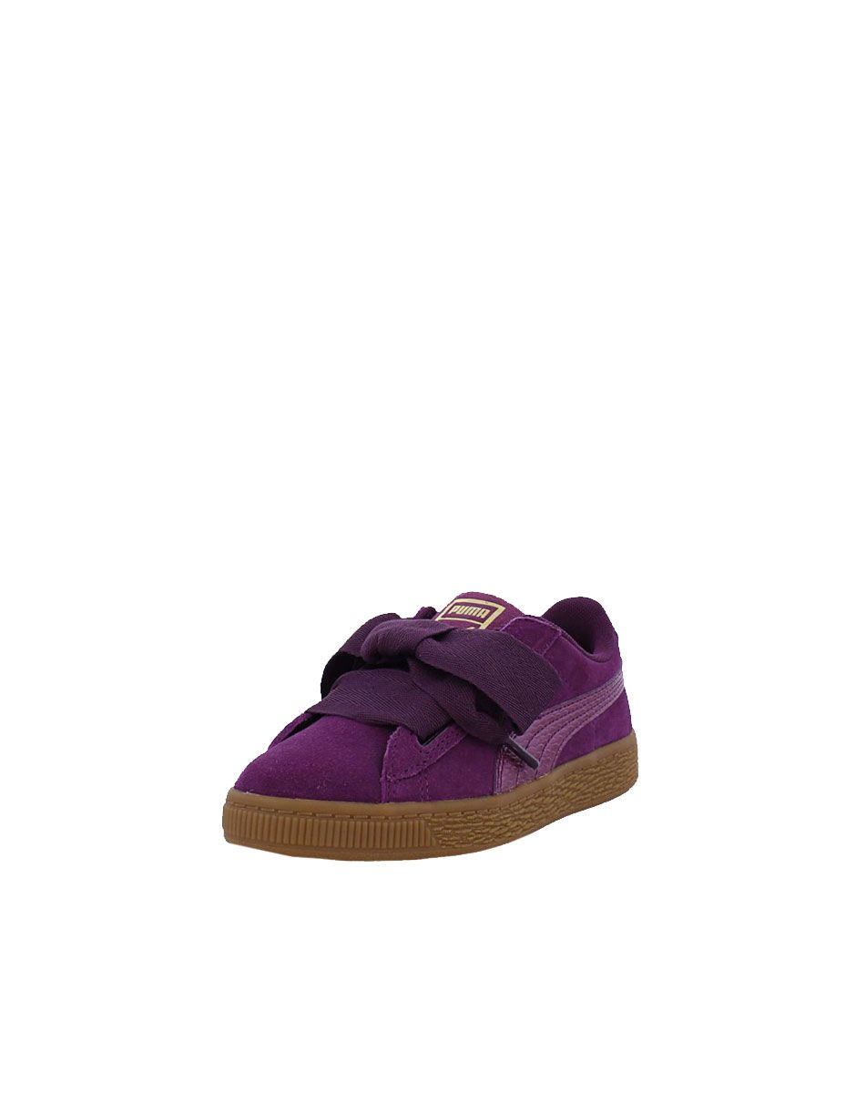 competitive price 3e4da 7cd54 PUMA Suede Heart Purple