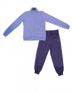PUMA Fun Graphic Ess Suit Purple
