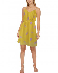 VERO MODA Kleid Dress Lemon