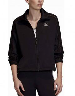ADIDAS 3 Stripe Lace Track Jacket Black