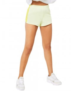 ADIDAS 3 Stripe Shorts Yellow