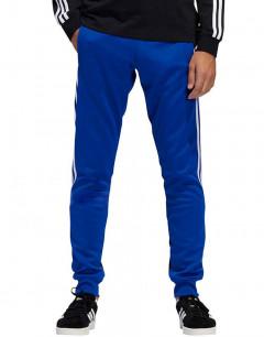 ADIDAS 3 Stripe Wrap Track Pants Blue