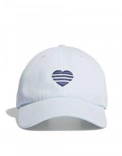 ADIDAS 3-Striped Heart Hat White