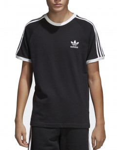 ADIDAS 3-Stripes Tee Black