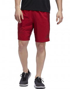ADIDAS 4KRFT Woven 10-inch Shorts Red