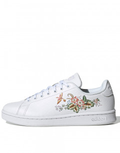 ADIDAS Advantage Flower White