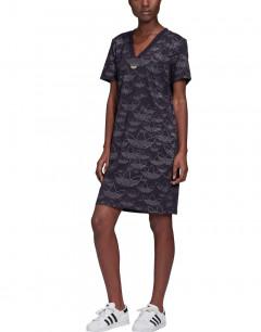 ADIDAS Allover Print Dress Black