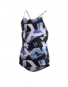 ADIDAS Allover Print Swim Suit Multi