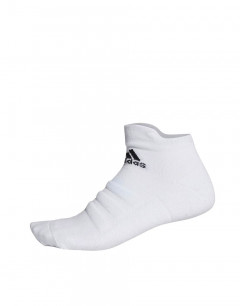 ADIDAS Alphaskin Cushioning Ankle Socks White