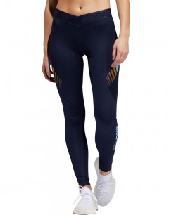 ADIDAS Alphaskin Moto Tights Navy