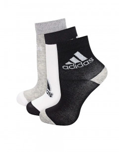 ADIDAS Ankle Socks 3 Pairs Black