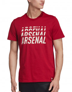 ADIDAS Arsenal DNA Graphic Tee Red