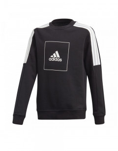 ADIDAS Athletics Club Crew Sweatshirt  Black