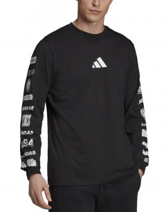 ADIDAS Athletics Pack Longsleeve T-Shirt Black