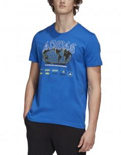 ADIDAS Athletics Pack Worldwide Tee Blue