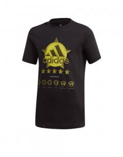 ADIDAS Atlhletic Pack Spacer Tee Black