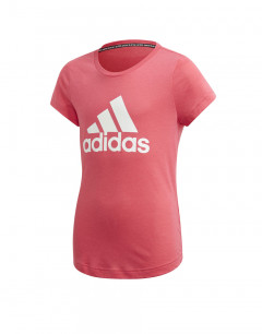 ADIDAS Badge Of Sport Tee Pink