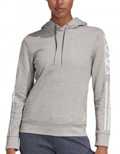 ADIDAS Bold Block Pullover Hoodie Grey