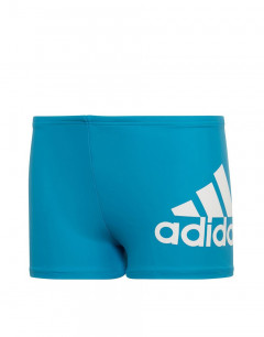 ADIDAS Boys Badge Of Sport Swim Shorts Blue