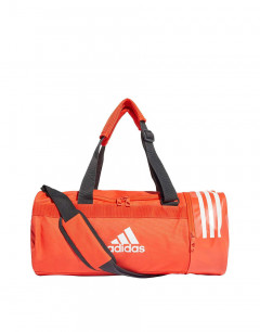 ADIDAS Convertible 3 Stripes  Duffel Small Orange