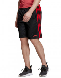 ADIDAS Design 2 Move Climacool 3-Stripes Shorts Blk/Red