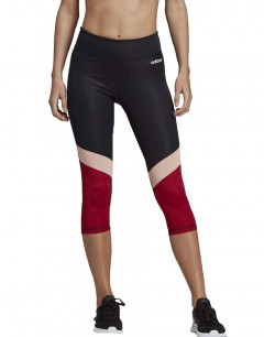 ADIDAS Design 2 Move Colorblock 3/4 Leggings Black