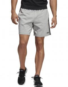 ADIDAS Essentials 3 Striped Training Shorts Grey