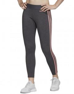 ADIDAS Essentials 3 Stripes Leggings Grey