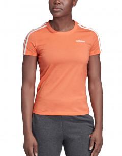 ADIDAS Essentials 3-Stripes T-Shirt Orange