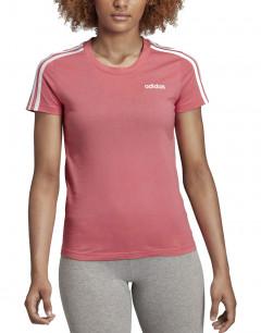 ADIDAS Essentials 3 Strippes Tee Pink