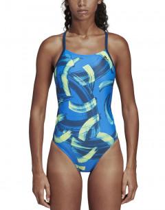 ADIDAS Fit X-Back Swim Suit Blue