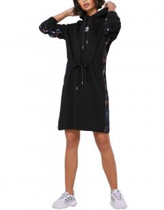 ADIDAS Forbidden City Hooded Dress Black