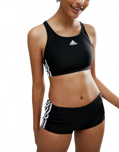 ADIDAS Girls 3S Swim Suit Black