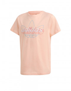 ADIDAS Graphic Tee Coral