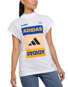 ADIDAS Graphic Tee White
