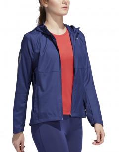 ADIDAS Hooded Wind Jacket Indigo