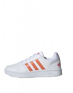ADIDAS Hoops 2.0 K White