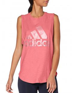 ADIDAS ID Winners Muscle Tee Pink