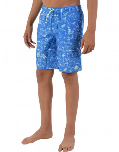 ADIDAS Kids Graphic Swim Shorts Blue