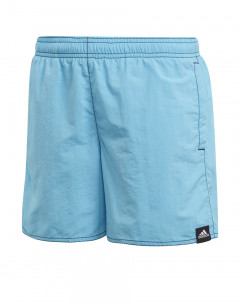 ADIDAS Kids Solid Swim Shorts Blue