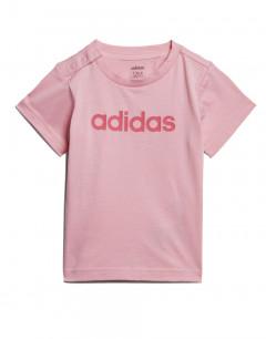 ADIDAS Linear Tee Light Pink