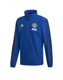 ADIDAS Manchester United All Weather Jacket Blue