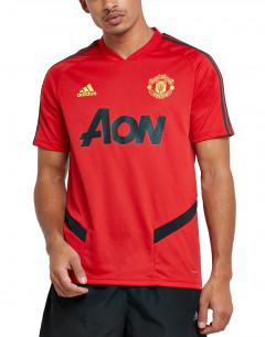 ADIDAS Manchester United Trainig Jersey Tee Red