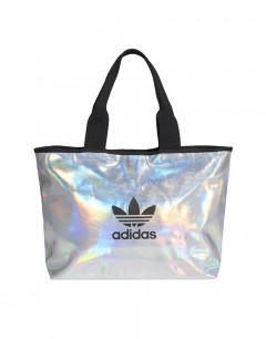 ADIDAS Metallic Shopper Bag Silver