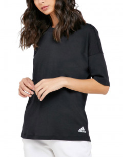 ADIDAS Must Have 3-Strippes Tee Black