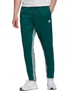 ADIDAS Must Haves 3 Striped Tapered Pants Green